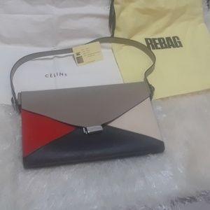 Auth Celine classic & elegant Diamond bag